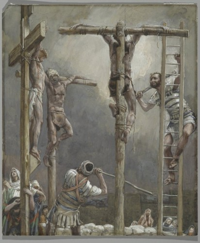 Thieves Legs are Broken, by  James Tissot, Brooklyn Museum, Public Domain
