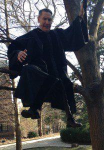 pastor on a limb
