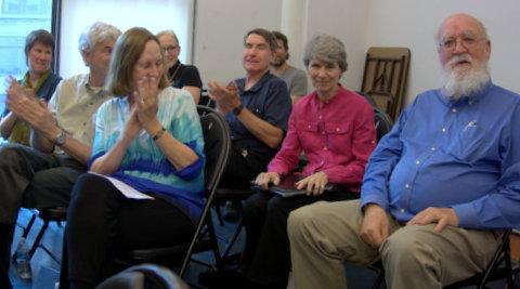Dan Dennett, Linda LaScola Art Siebens (husband) part of Kurt Volkan (publisher)