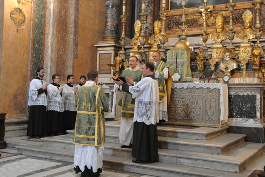 Catholic high mass