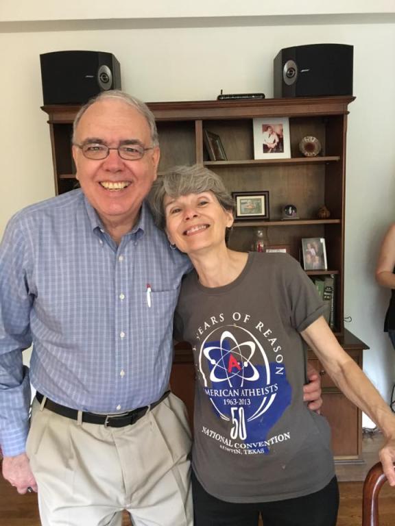 Linda LaScola and David Madison