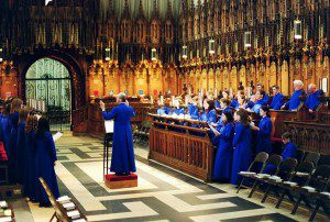 Evensong choir