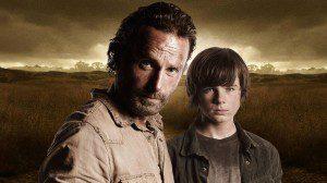 The_Walking_Dead_-_Andrew_Lincoln,_Chandler_Riggs,_David_Alpert_Interview_-_Comic_Con_2014