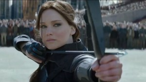 Jennifer Lawrence from The Hunger Games: Mockingjay - Part 2. Photo courtesy Lionsgate