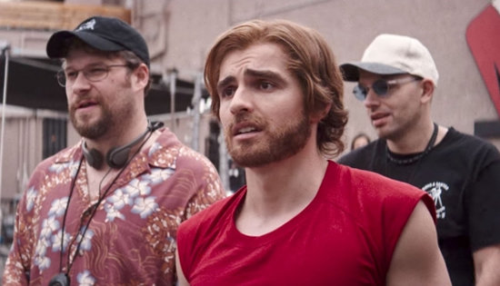 "No, Greg doesn't have the most impressive crop of whiskers on this list. But this beard—""hair"" one day, gone the next—is the only one that actually impacts the movie's narrative arc. And that makes it … un-fur-gettable? (Dave Franco in The Disaster Artist, photo courtesy A24)"