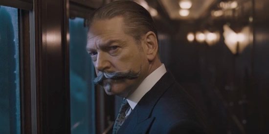 Was there any doubt that Mr. Poirot, the self-proclaimed greatest detective in the world and bearer of perhaps the world's most fabulous facial hair, not make this list? Elementary, my dear reader. (Kenneth Branagh in Murder on the Orient Express, photo courtesy 20th Century Fox)