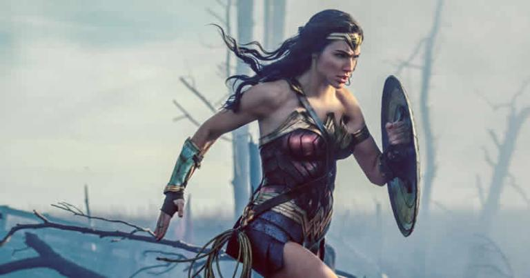 Gal Gadot in Wonder Woman, photo courtesy Warner Bros.