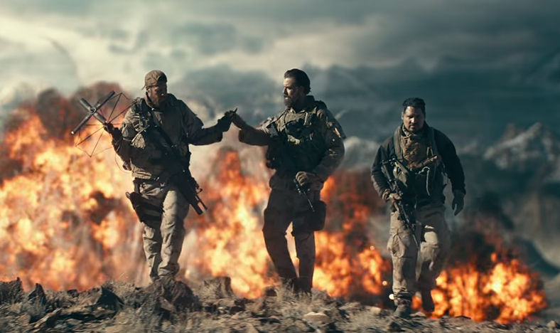 From 12 Strong, photo from the Warner Bros. trailer