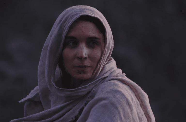 Rooney Mara from Mary Magdalene, still from the trailer