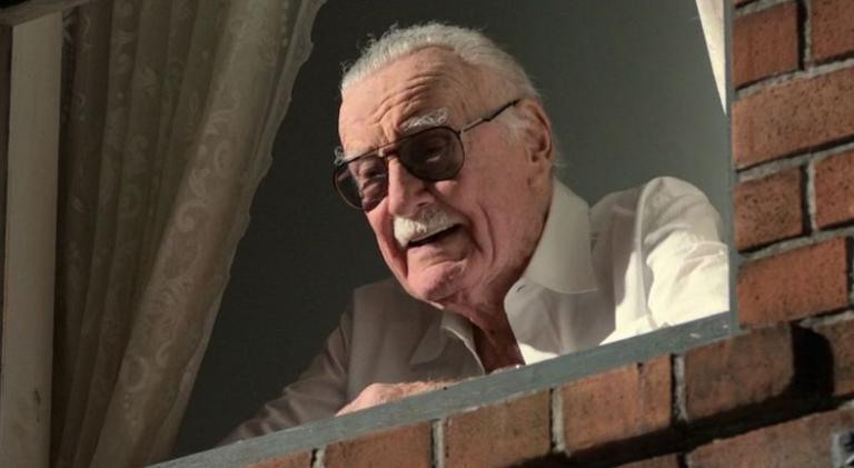 Stan Lee from Spider Man Homecoming