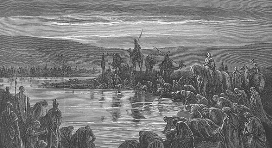 Gideon Chooses 300 Soldiers, by Gustav Doré. Wikicommons.