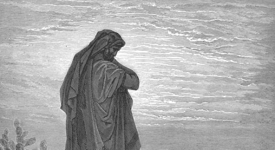 The Prophet Amos, by Gustave Doré. WIkicommons.