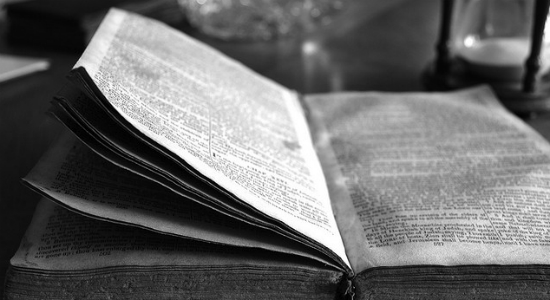 Bible, by Olga Caprotti. Flickr Commons.