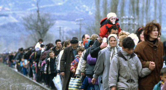 Kosovo Refugees, by United Nations Photo. Flickr Commons.