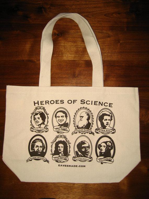 Heroes of Science Tote