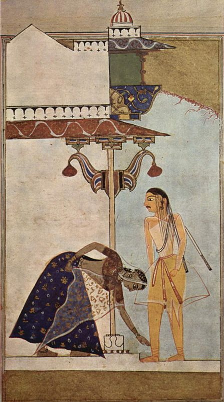 What does it mean when Hindus touch someone's feet? | Deepika Birks