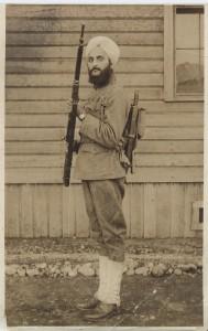 Bhagat Singh Thind, US Army