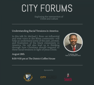 City Forums - Michael Ross