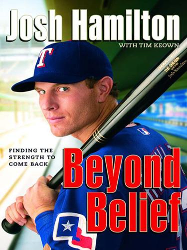 "Josh Hamilton's book ""Beyond Belief"""