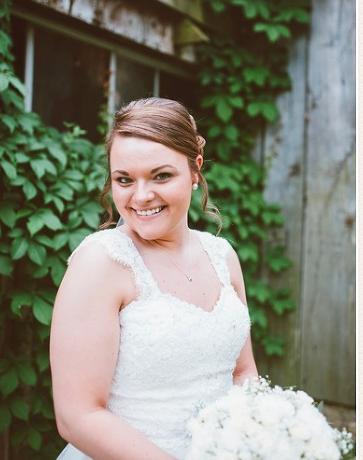 My stunning bride