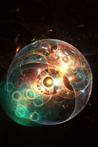 An illustration of the Multiverse.  Image courtesy of Shutterstock.