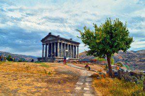 Garni Pagan Temple.    Image courtesy of Shutterstock.