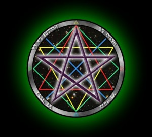 Four Powers Pentacle by Myke Green. Used by permission.