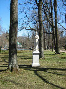 """Statue In The Park Of Peterhof"" by Olga Konstantinova (public domain).  Courtesy of PublicDomainImages.net."