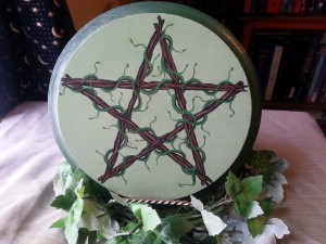 """Greenwitch Pentacle"" by Sable Aradia. Copyright (c) 2015. All rights reserved."