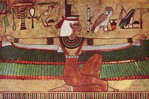 The Goddess Isis (public domain image.)