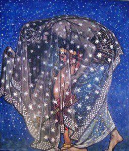 Nuit (Public domain image).