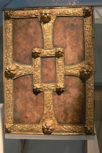 Lombard book ( 9th-10th century) by Wolfgang Sauber.  Courtesy Wikimedia Commons.