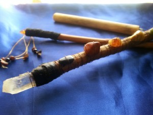 I'm making custom wands at my Etsy shop! Click on this pic for the link.