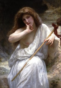 William Adolphe Bouguereau (1825-1905) - Mailice (1899). Public domain image.