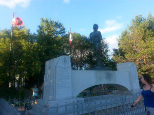 The Terry Fox Monument in Thunder Bay, ON. Photo by Sable Aradia.