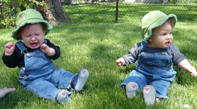 """First Time in the Grass,"" by SurlyGirl. Photo courtesy SurlyGirl via Flickr Creative Commons."
