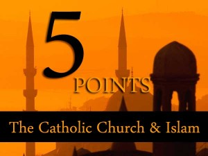 5Points_Islam_Christianity