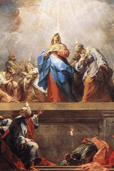 Jean II Restout : Pentecôte, 1732