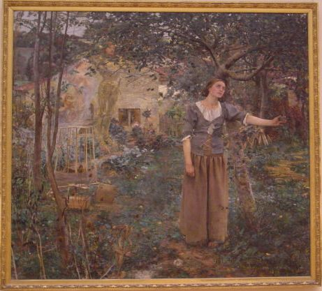 Jules Bastien-Lepage (1848–1884) Joan of Arc (1879) New York, Metropolitan Museum of Art