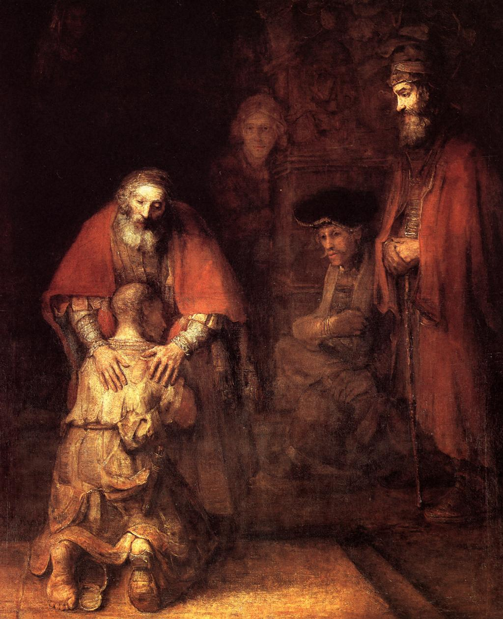 The Return of the Prodigal Son, Rembrandt, 1669