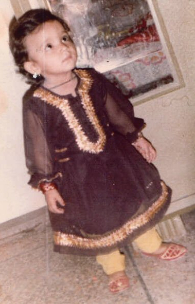 Kiran Opal - as a 3 year old