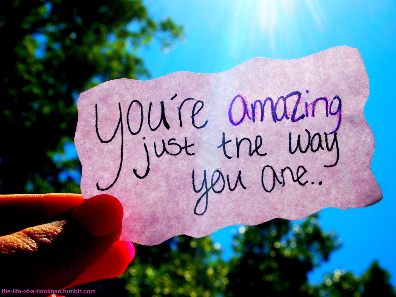 You Are Amazing Just The Way You Are Recovering From Religion