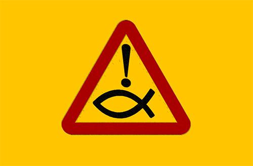 Triangular-warning-sign
