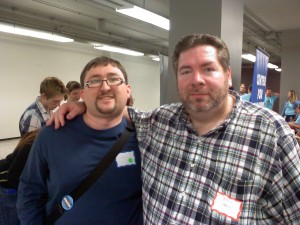 Me with Ed at Skepticon 5 (and proof that I am not very photogenic)