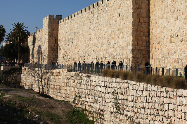Even big walls can fall if enough bricks are taken out. (Credit: StateofIsrael, CC license.)