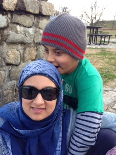 Lil D-and-Dilshad-at-the-lake