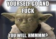 Sorry Yoda, but the truth hurts.