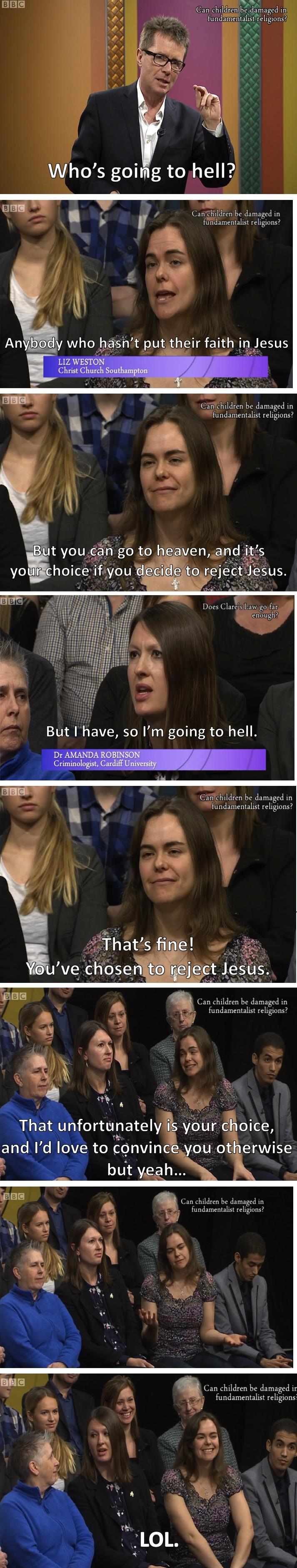 Liz Weston hell