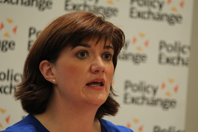 Education Secretary Nicky Morgan. Image by Policy Exchange. Creative Commons.