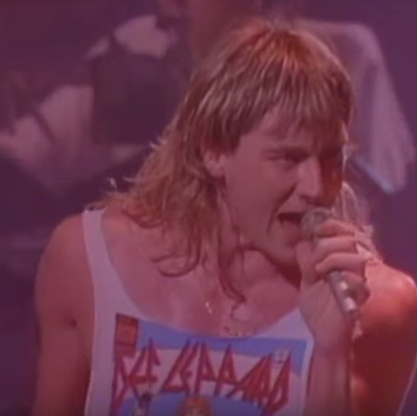 Def Leppard's Joe Elliott. YouTube.